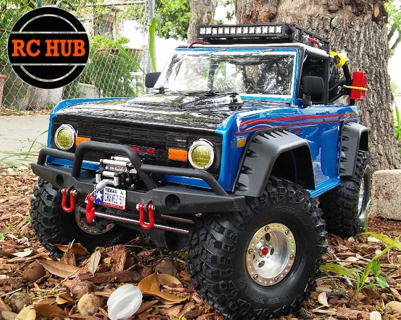 RCHUB BLUE FORD FRONT AND SIDE