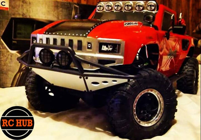 RCHUB RED TRUCK FRONT